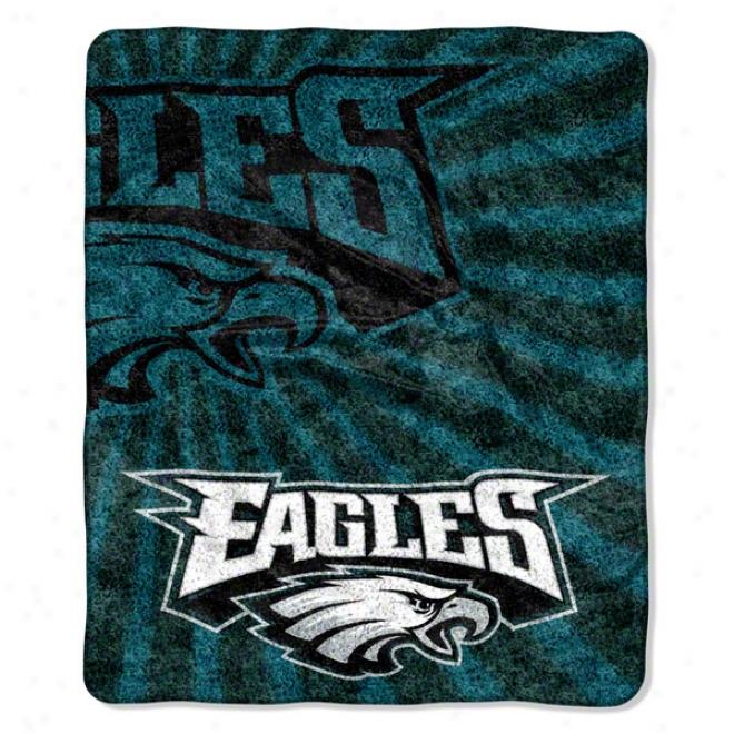 Philadelphia Eagles 50x60 Strobe Sherpa Throw
