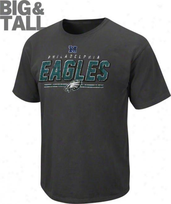 Philadelphia Eagles Big & Tall Vintage Roster Pigment Dye T-shirt
