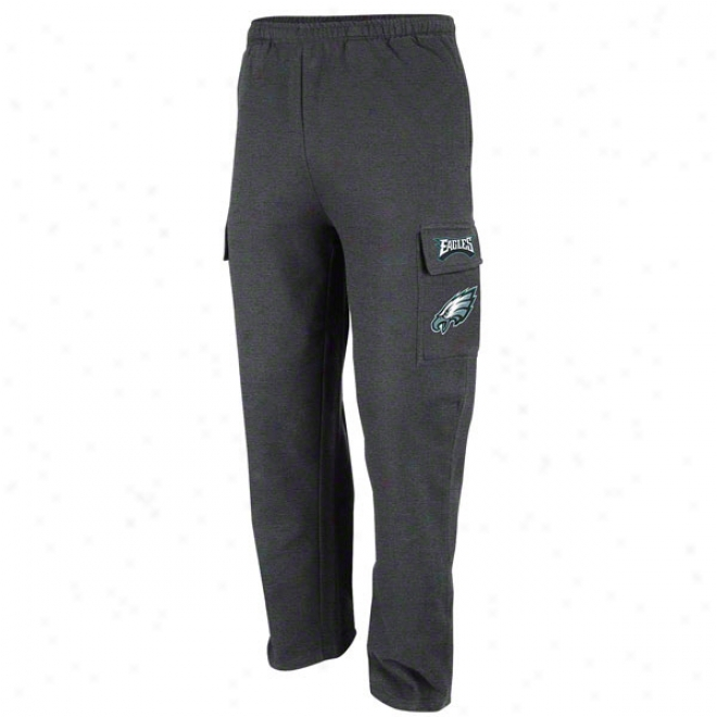 Philadeophia Eagles Charcoal Classic Cargo Fleece Pants Ii