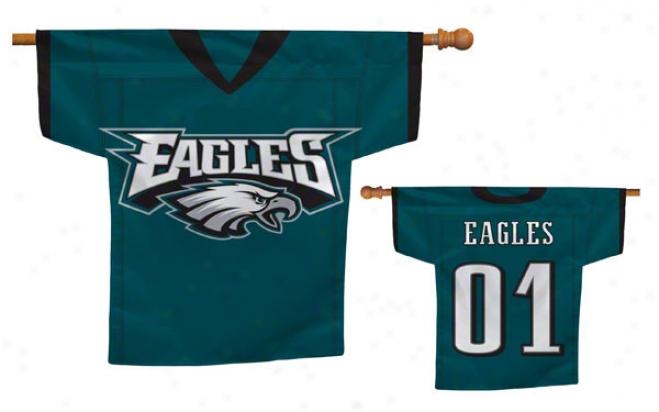 Philadelphia Eagles Jersey Flag