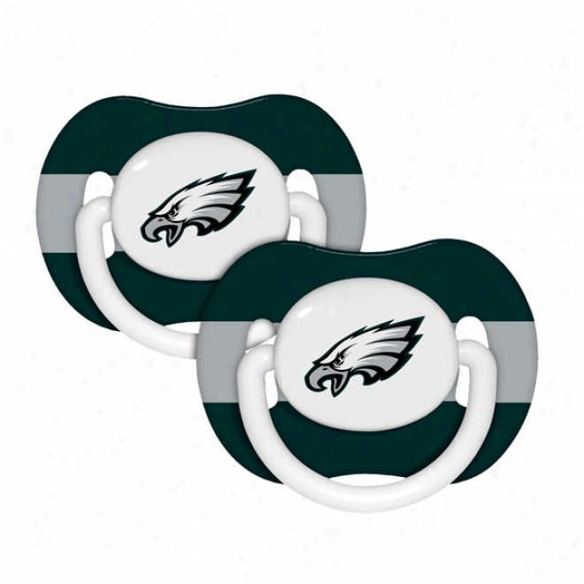 Philadeplhia Eagles Pacifier 2-pack