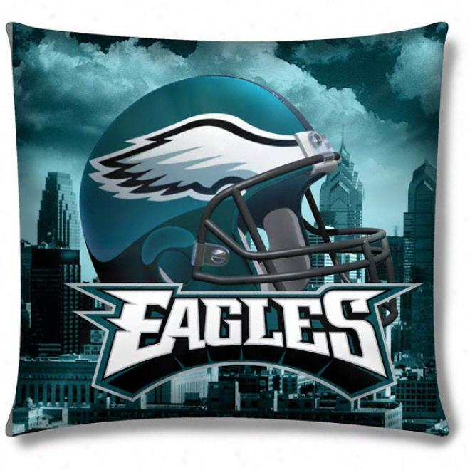 Philadelphia Eagles Pboto Realistic Pillow