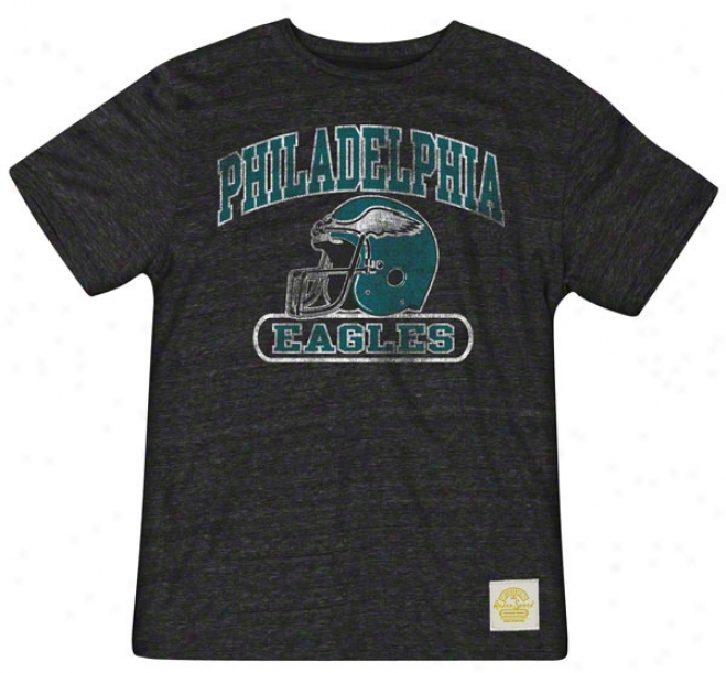 Philadelphia Eagles Retro Sport Show Boat Tri-blend T-shirt