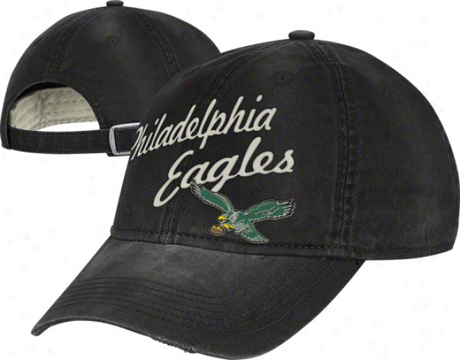 Philadelphia Eagles Vintage Cardinal's office: Lifestyle Slouch Adjustable Hat