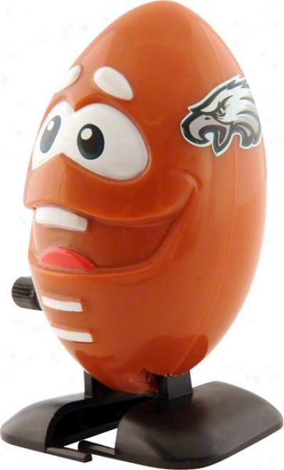 Philadelphia Eagles Wind-up Football Toy