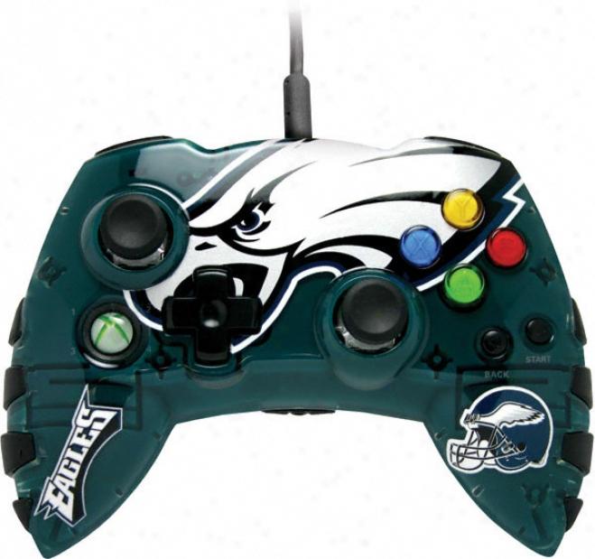 Philadelphia Eagles Xbox 360 Controller