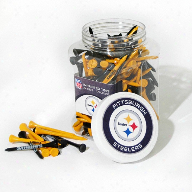 Pittsburgh Steelers 175 Pc. Golf Tee Shake