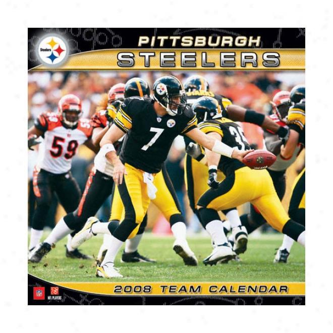 Pittsburgh Steelers 2008 Wall Calendar