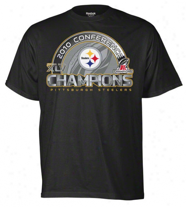Pittsburgh Steelers 2010 Afc Conference Champions Super Bowl Xlv Solie Structure Tee
