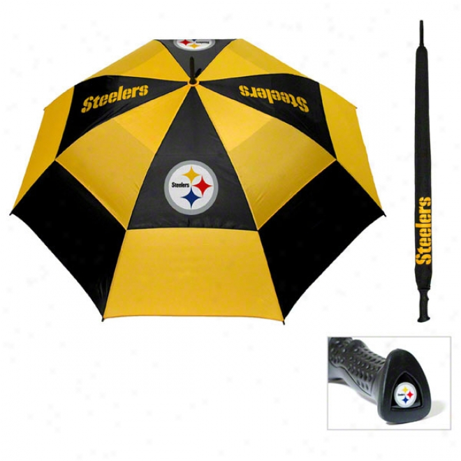 Pittsburgh Steelers 62'' Double Canopy Umbrellla