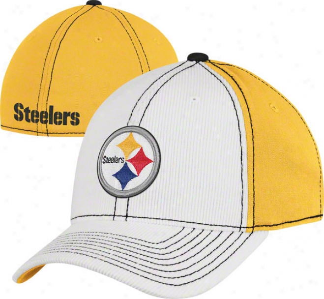 Pittsburgh Steelers Flex Hat: Corduroy Structured Flex Hat