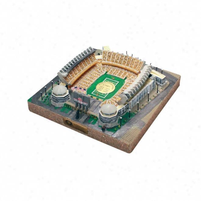 Pittsburgh Steelerx - Heinz Field Stadium Replica With Gold Medallion - Gold Series