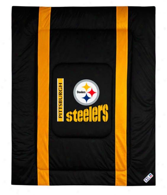 Pittsburgh Steelers Sideline Full/queen Comforter