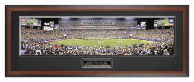 Pittsburgh Steelers - Super Bowl Xliii Champions - Framed Panoramic