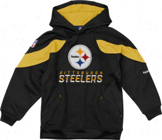 Pittsburgh Steelers Youth Sideline Momentum Hooded Sweatshirt