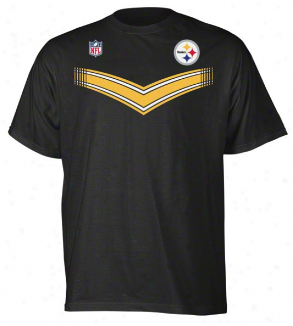 Pittsburgh Steelers Youth V-stripe T-shirt
