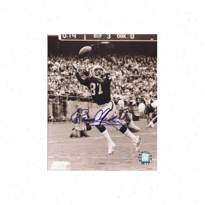 Raymond Chester Autographed Oakland Raiders 8x10 Photo
