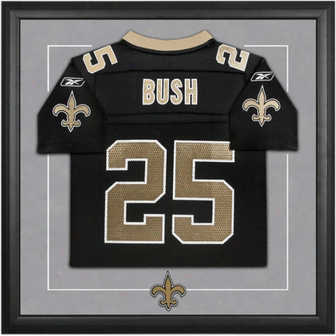 Regge Bush New Orleans Saints Framed Youth Jersey