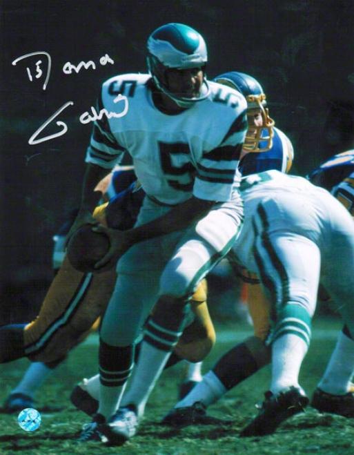 Roman Gabriel Philadelphia Eagles Autographed 8x10 Photo  Vs Chargers