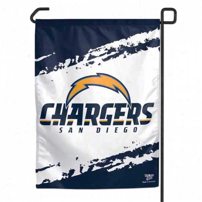 San Diego Chargers 11x15 Garden Flag