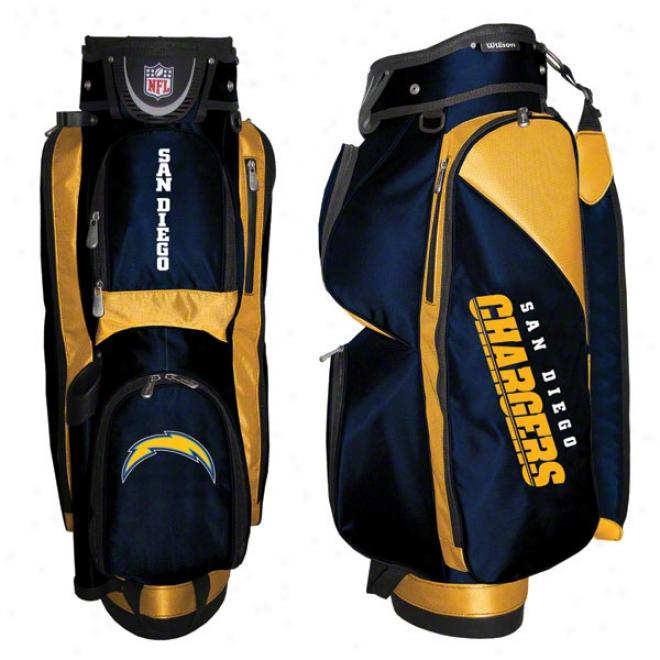 San Diego Chargers Cart Golf Bag