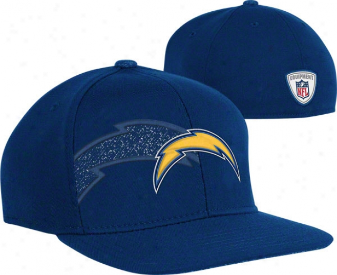 San Diego Chargdrs Flex Hat: 2011 Player 2nd Season Sideline Flex Hat