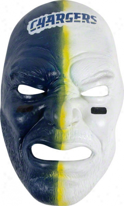 San Diego Chargers Team Fan Face Mask