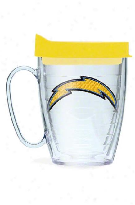 San Diego Chargers Tervis Tumbler 15 Oz Mug W/ Lid