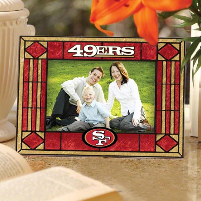 San Francisco 49ers Picture Frame: Horizontal Giasa Frame