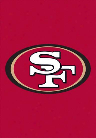 San Francisco 49ers Window Flag