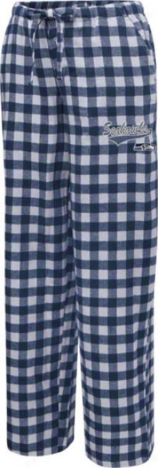 Seattle Seahawks Women's Navy Paramount Pants