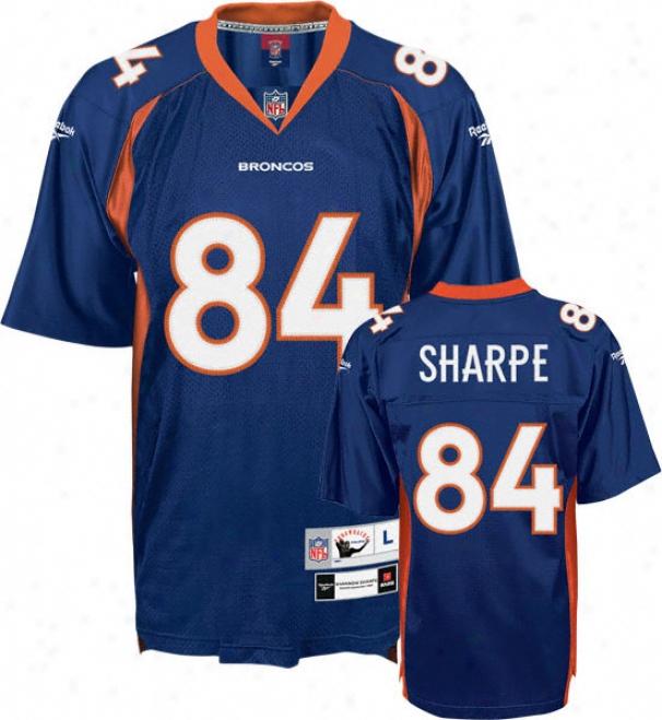 Shannon Sharpe Reebok Nfl Premier 1997 Throwback Denver Broncos Jersey