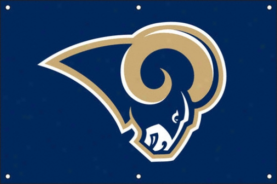 St. Louis Rams 2 X 3 Fan Banner