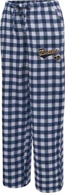 St. Louis Rams Women's Navy Paramount Pants