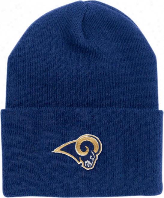 St. Louis Rams Youth/kids Cuffed Knit Hat