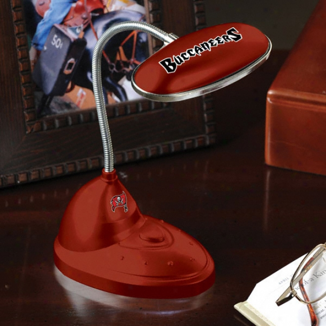 Tampa Bay Bucczneers Led Desk Lamp