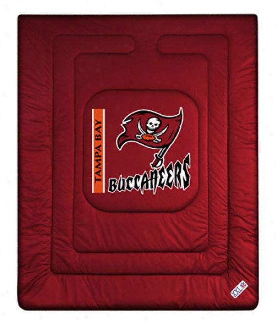 Tampa Bay Buccaneers Locker Room Comforter - Twin Bed