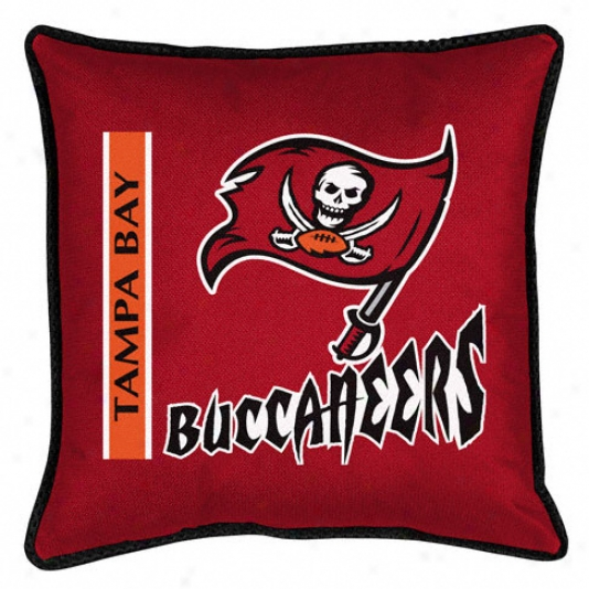 Tampa Bight Buccaneers Sideline Pillow