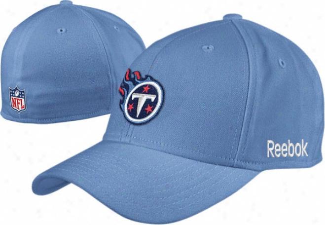 Tennessee Titans 2010 Light Blue Flex Sideline Structured Hat