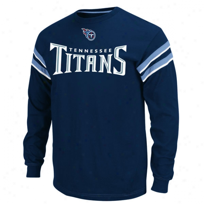 Tennessee Titans End Of Line Ii Long Sleeve Crew Shirt