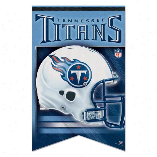 Tennessee Titans Premium 17x26 Banner