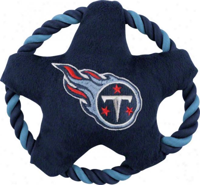 Tennessee Titans Star Disk Doog Toy