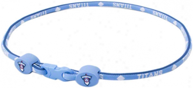 Tennessee Titans Titanium Necklace