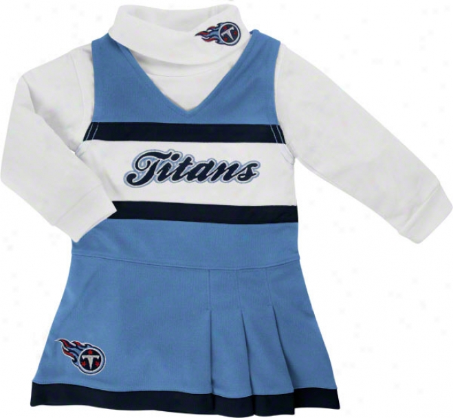 Tennessee Titans Toddler Jumper And Turtleneck Set