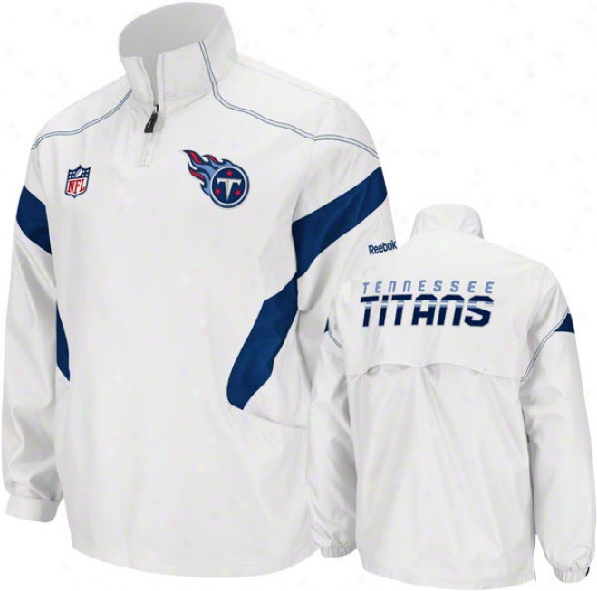 Tennessee Titans White 2011 Sideline Momentum Hot Jacket