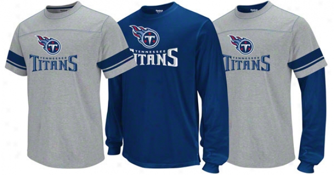 Tennessee Titans Youth Option 3-in-1 T-shirt Combo Pack