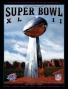 Canvas 22 X 30 Super Bowi Xlii Program Print  Dteails: 2008, Giants Vs Patriots
