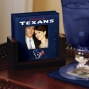 Houston Texans Art Glass Photo Coaster Set