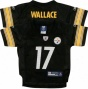 Mike Wallace Infant Jersey: Reebokk Negro Pittsburgh Steelers Rrplica Jersey