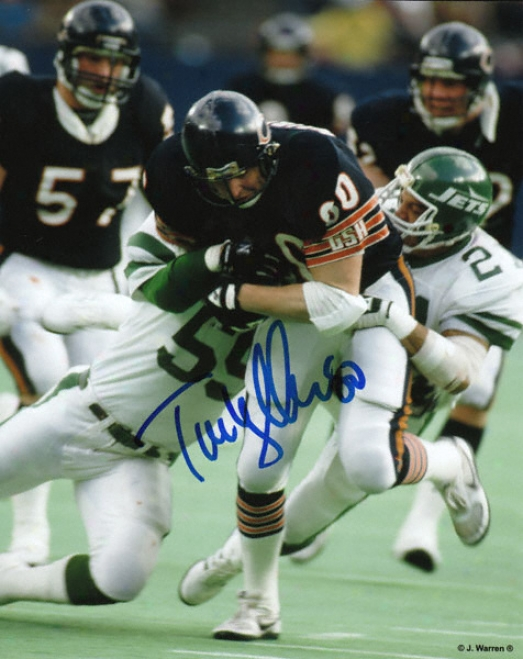 Tim Wrightman Chicago Bears Autographed 8x10 Photograph